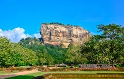 De Vesting van de Rots van Sigiriya, Sri Lanka Royalty-vrije Stock Fotografie