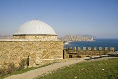 De vesting van Genua in de Krim Stock Afbeeldingen