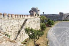 De vesting van de gevangenis Edikule in Istanboel royalty-vrije stock afbeelding