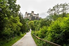 De Vesting van Hohensalzburg Salzburg oostenrijk Royalty-vrije Stock Foto