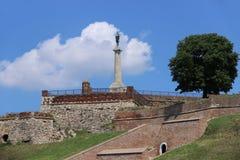 De vesting van Kalemegdan stock afbeelding