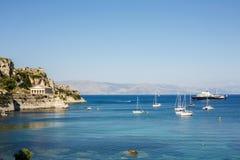 De vesting van Korfu Stock Fotografie