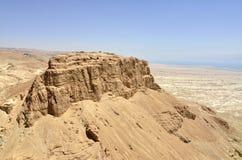 De vesting van Masada, Israël. Royalty-vrije Stock Afbeeldingen