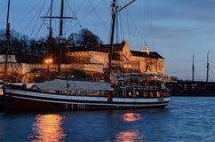 De Vesting van Oslo Akershus Royalty-vrije Stock Afbeelding