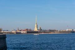 De Vesting van peter-Pavel ` s Rusland St Petersburg royalty-vrije stock foto's