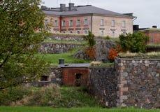 De vesting van Suomenlinna Royalty-vrije Stock Foto's