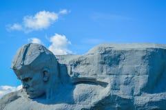 De Vestings groot hoofd en moed van Brest Stock Fotografie