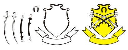 De vestingswapens Royalty-vrije Stock Afbeeldingen