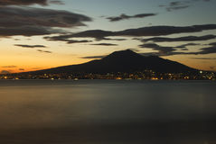 De Vesuvius stock fotografie
