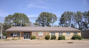 De veteranen centreren in de Provincie van Somerville Fayette, TN Stock Foto