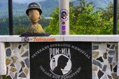 De veteranen overzien Bean Station Tennessee royalty-vrije stock fotografie