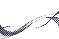 De Vezel Swooshes van de koolstof stock illustratie