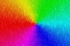 De vezelachtergrond van de regenboog Royalty-vrije Stock Foto