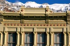 De Victoriaanse bouw Royalty-vrije Stock Foto