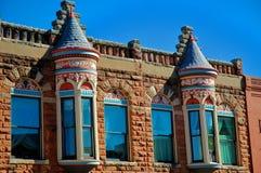 De Victoriaanse bouw Royalty-vrije Stock Afbeeldingen