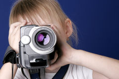 De video van het de spruithuis van het meisje Stock Foto's