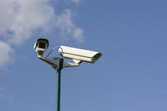 De videocamera's van de veiligheid Royalty-vrije Stock Afbeeldingen