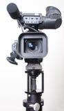 De videocamera van de tribune Stock Foto