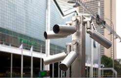 De videocamera van de veiligheid Stock Afbeelding