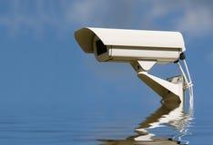 De videocamera van de veiligheid. Stock Afbeelding