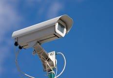De videocamera van de veiligheid Stock Afbeeldingen