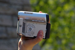 De Videocamera van de zak Royalty-vrije Stock Afbeeldingen