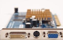 De videokaart van de computer Stock Afbeelding