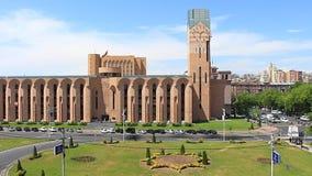 de videoklem van de tijdtijdspanne, Armenië Yerevan stock video