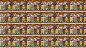 De videosamenstelling van de motielijn royalty-vrije illustratie