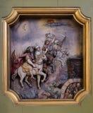 De vier ruiters van de Apocalyps royalty-vrije stock afbeeldingen