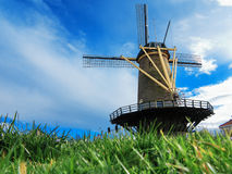 De Vier Winden Windmill Royalty Free Stock Images