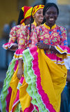 De viering van Cartagena DE Indias Stock Foto's