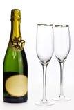 De viering van Champagne stock foto
