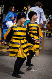 De viering van Dag van honing in de Russische stad van Medyn, Kaluga-gebied op 14 Augustus, 2016 Stock Foto