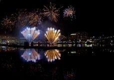 De viering van de Dag van Australië (Sydney) Stock Foto
