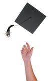 De viering van de graduatie Stock Fotografie
