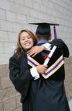 De Viering van de graduatie stock afbeeldingen