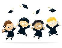 De Viering van de graduatie Royalty-vrije Stock Foto's