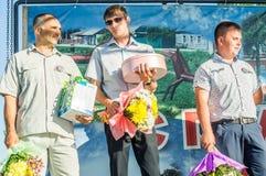 De viering van de jeugddag in het Kaluga-gebied in Rusland op 27 Juni 2016 royalty-vrije stock foto