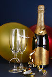 De Viering van de nieuwjaarsdag Royalty-vrije Stock Foto's