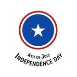 De viering van de onafhankelijkheidsdag Stock Afbeeldingen