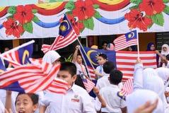 De viering van de onafhankelijkheidsdag Royalty-vrije Stock Foto's