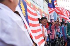De viering van de onafhankelijkheidsdag Royalty-vrije Stock Afbeelding