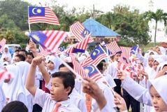 De viering van de onafhankelijkheidsdag Stock Foto's
