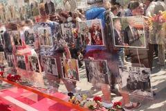 De viering van de overwinningsdag in Moskou, 2013 Stock Afbeelding