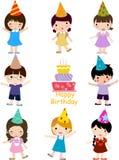 De viering van de verjaardag Royalty-vrije Stock Afbeelding