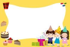 De viering van de verjaardag Stock Foto
