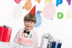 De viering van de verjaardag stock afbeelding