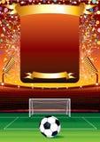De Viering van de voetbal Royalty-vrije Stock Afbeeldingen
