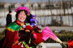 De viering van het Festival van de lantaarn Stock Foto